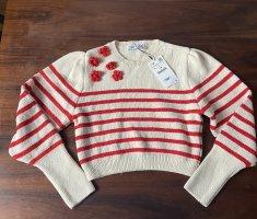 Zara Crop-Pullover neu