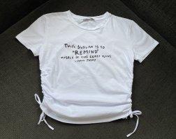 Zara Damen T-Shirt Weiß Gr. S NEU !!