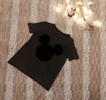 Zara Camiseta negro-gris antracita