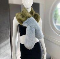 Zara fake Fur Schal NEU