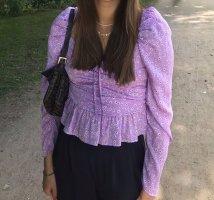 Zara Flieder Bluse Gr.S
