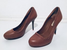 Zara Highheels Pumps in braun Gr.38