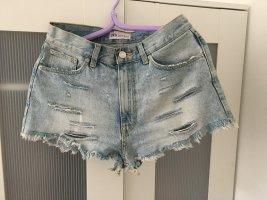 Zara Denim Shorts azure