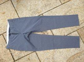 Zara Hose Gr. 36 Blau-Weiß Muster