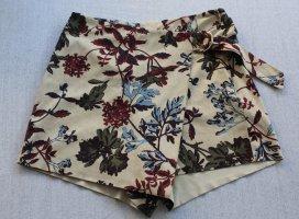 Zara Basic Jupes-culottes multicolore tissu mixte