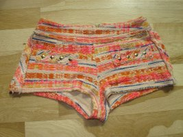 Zara Hotpants Shorts Hose Pants Bunt S XS 34 36