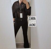 Zara Chaqueta corta negro