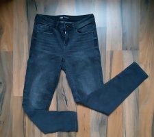 Zara Jeans elasticizzati grigio scuro