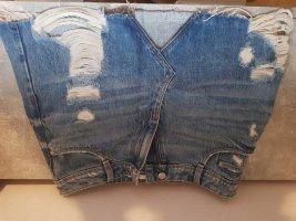 zara jeans röcke