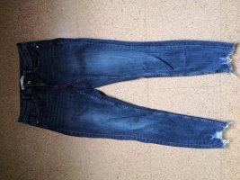 Zara Woman Jeans skinny blu