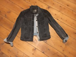 Zara Jeansjacke schwarz blau S