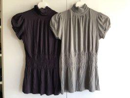 Zara Jersey Tops Doppelpack M