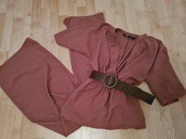 Zara Jumpsuit Overall mit Gürtel XS S