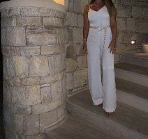 Zara Jumpsuit weiß gr 36 Sommer