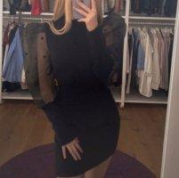 Zara Kleid mit Puffärmeln s neu