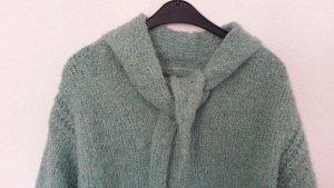 Zara Knit - kuschliger Pullover - tolle Farbe eisgrün Gr.S - M