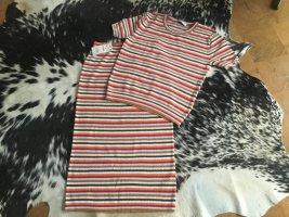 Zara Knit Cardigan a maniche corte multicolore Cotone