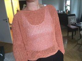 Zara Lachs färbener Oversize Pulli M sommerliche Impressionen