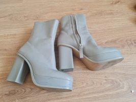 zara Leder Boots