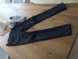 Zara Man Spodnie z pięcioma kieszeniami czarny