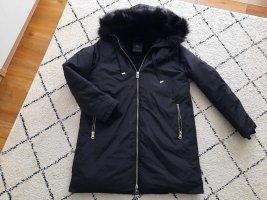 Zara Capuchon jas zwart