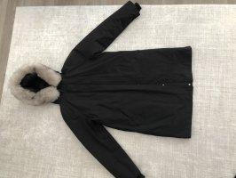 Zara Down Coat black