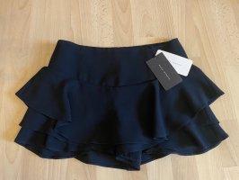 ZARA Mini Rock / Shorts, schwarz, M