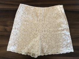 Zara • Neue High Waist Shorts aus Broderie Anglaise Spitze Gr. 38/M