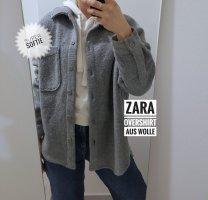 Zara Overshirt aus Wolle