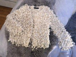 Zara Giacca in eco pelliccia bianco sporco-crema