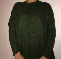 Zara Wool Sweater dark green
