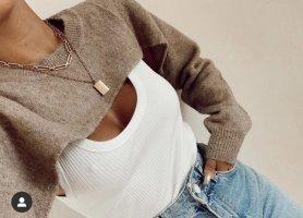 Zara Pullover mit Shirt, Gr. M NEU