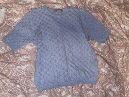 Zara Knit Fine Knitted Cardigan azure