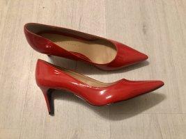 Zara Tacones altos rojo