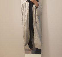 Zara Heavy Raincoat light grey