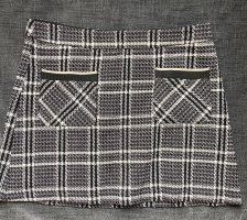 Zara Tweed Skirt black-white