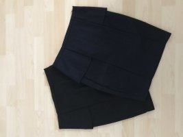 Zara Gonna a tubino nero-blu scuro