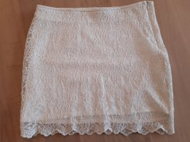 Trf by Zara Lace Skirt multicolored