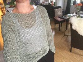 Zara schilfgrüner oversize Pulli M sommerliche Impressionen