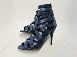 Zara Schnür High Heels Sandalen