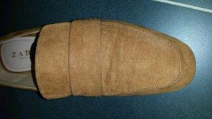 ' zara ' Schuhe, Loafer, Größe 40 ( mit passendem Gürtel)