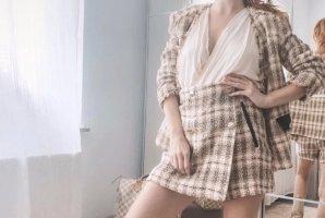 Zara set tweed