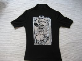 zara shirt gr. s 36 schwarz neuwertig