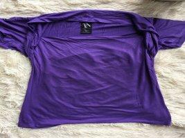 Zara Shirt mit Wasserfallkragen wie NeU