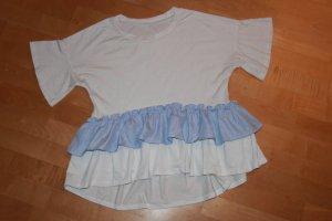 Zara Tunika biały-błękitny