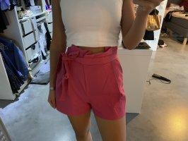 Zara Short kurze Hose pink S