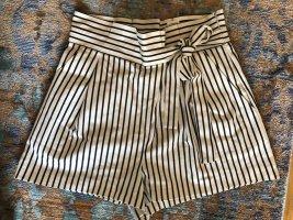Zara Shorts 40 L neu gestreift Streifen Schleife Sommer