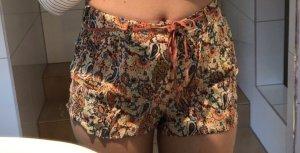 Zara Pantalón corto de talle alto multicolor