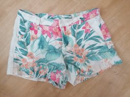 Zara Shorts kurze Hose Hotpants XS 34 164 Leinen