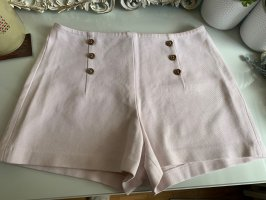 Zara High-Waist-Shorts rose-gold-coloured